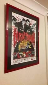 Rare limited edition BLOODBATH VARIANT art framed