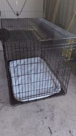 Extra large 2 door dog crate