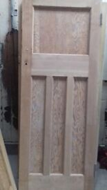 Solid wood salvaged and profesionally stripped Retro doors