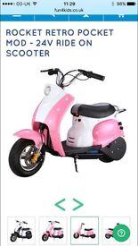 Rocket pocket mod scooter