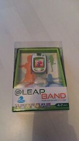 Brand new in box: Leapband interactive toy