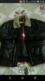 Boys M&S jacket age 5-6y