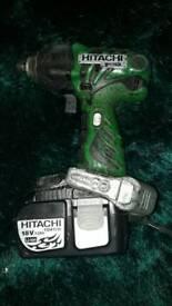 Hatachi 18v cordless impact drill