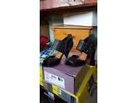 Bertie black leather shoes