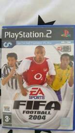 Ps2 game fifa 2004