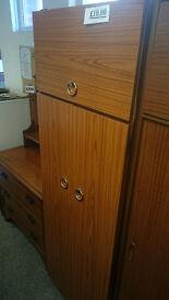 Large double wardrobe retro
