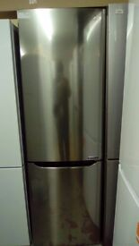 LG silver Fridge Freezer slightly marked Ex display