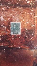 Canada 1c stamp