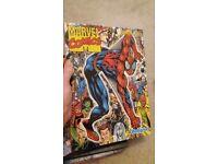 Bundle of 9 annuals and books (pokemon, Spider-Man etc)