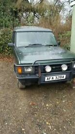 Land rover discovery 200tdi 11month mot Needs tlc