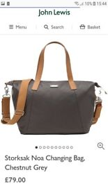 Brand new storksac changing bag rrp 79