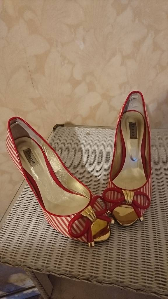 Dune woman's high heels shoes size 40 (7)
