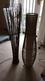 Next wicker lamp