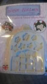 SUGAR BUTTONS SILICONE MOULD