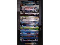 30 Children's DVD's rated PG and U