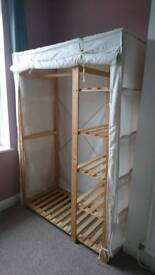 Fabric wardrobe in great condition