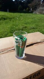 Guiness drinking glasses