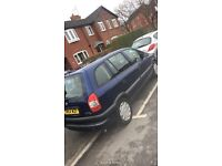 Vauxhall zafira 54 plate for sale taxed and mot'd
