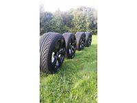 "Alloys and Tyres 18"" Audi Vw Skoda ..."