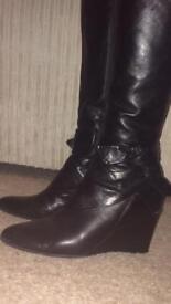 Clarks ladies boots