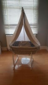 4 Piece Moses Basket Set