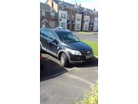 7 Seater Chevrolet Captiva For Sale. £850 ono