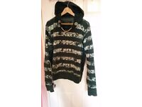 CHARAPA hoodie paid ON YOOX 110£ only 19£!!!! size L but wear XL
