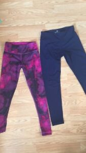 2 Yoga leggings for $20