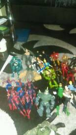 ASSORTED ACTION FIGURES,