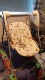 Baby Swing Chair with adjustable speed