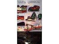Santa musical train set