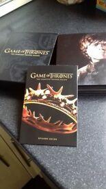 Game of Thrones Complete Box Set Seasons 1&2