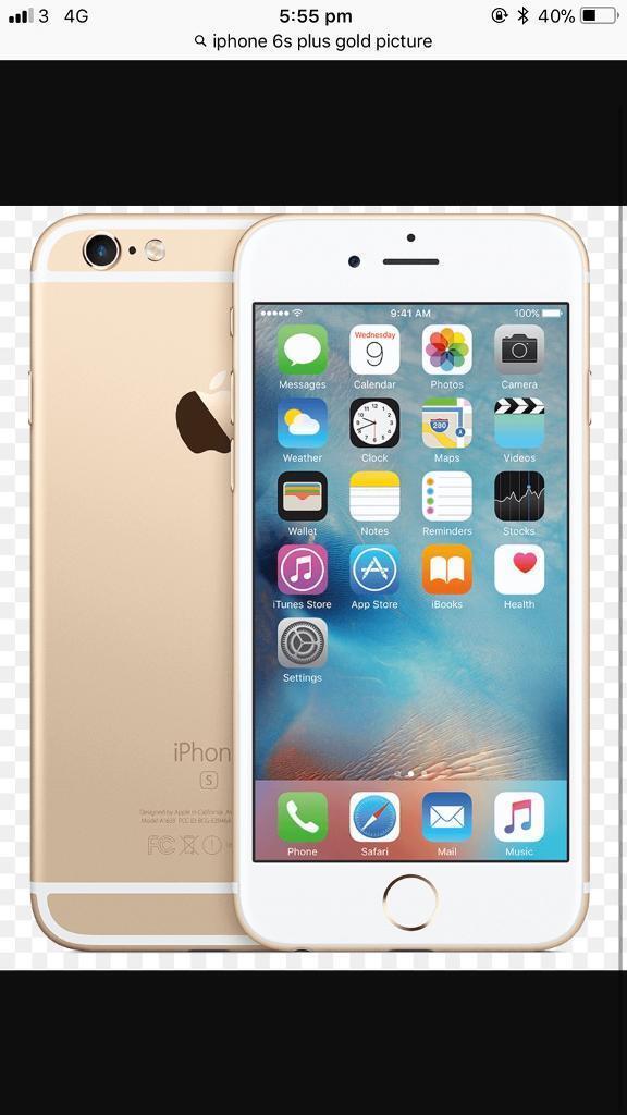 Apple iPhone 6s Plus 128 gb gold unlocked