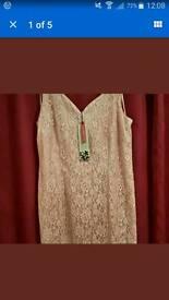 Jacques vert dusky pink dress BNWT