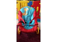 Hauck Baby Bouncer - Rock or Fixed position – Perfect condition £5.00
