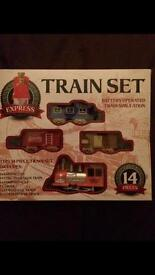 Train set 14 pieces in New condition