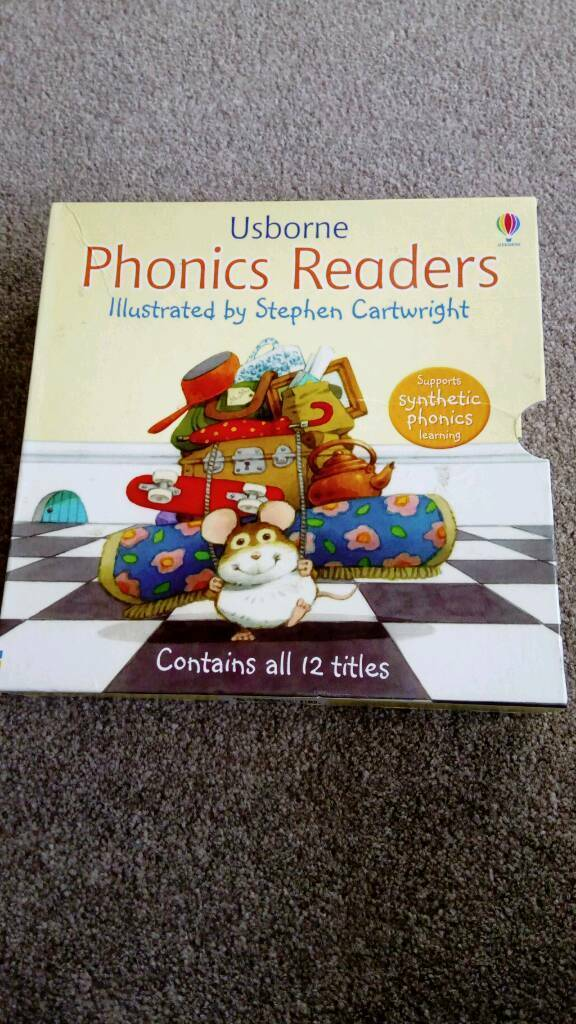 Children's Usborne Phonic books x 12