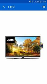 Brand new 32 inch tv/dvd combi