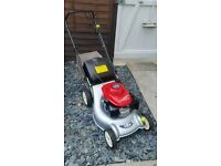 honda isy self proppelled push free mower
