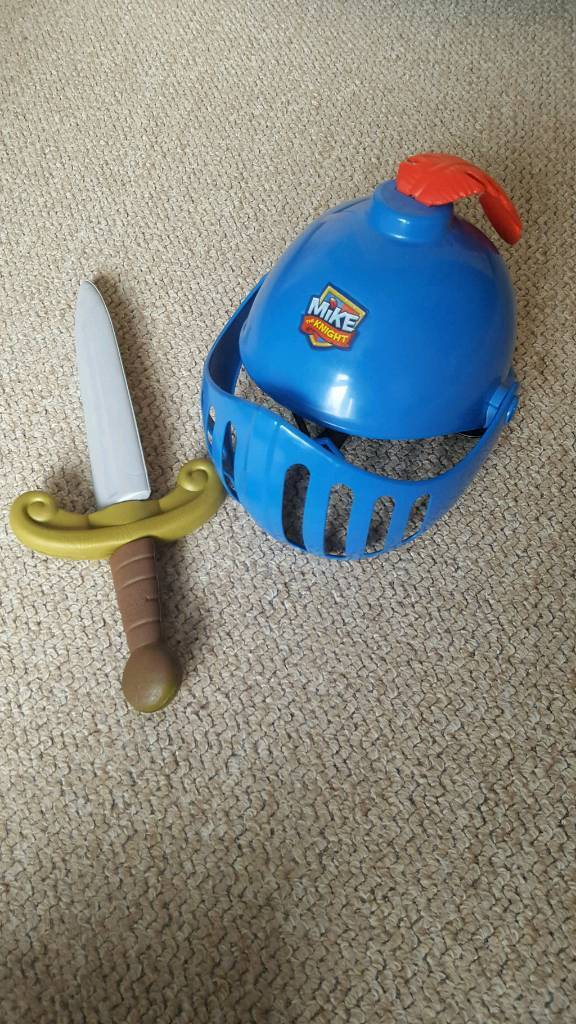 Mike the knight helmet and sword set