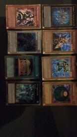 30 YU-GI-OH cards secret gold rare