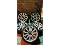 Ford fiesta st mk6 alloys set of 5