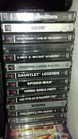 Playstation 1 Games*very good condition*