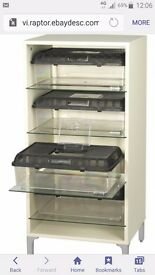 Hagen snake stax hatchling rack ideal for raising young or breeding cabinet with glass shelves