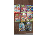 21 horrid henry dvds plus mickey mouse and turtles