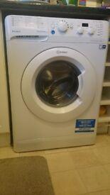 Washing machines Indesit almost new.