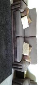 3 piece sofa and cushions