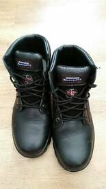 For sale relaxed fit sketchers steel toe cap boots