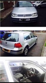 VW Golf 1.4 Patrol. All service History. Clean and good Condition.