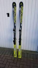 Fischer Progressor skis 175cm